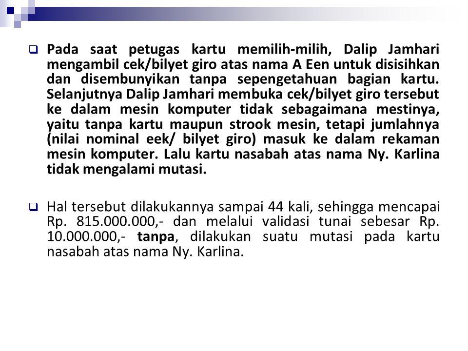  Bahwa terdakwa Tjandra Sugiono pada waktu dan tempat tersebut diatas telah mendaftarkan nama Domain Name.