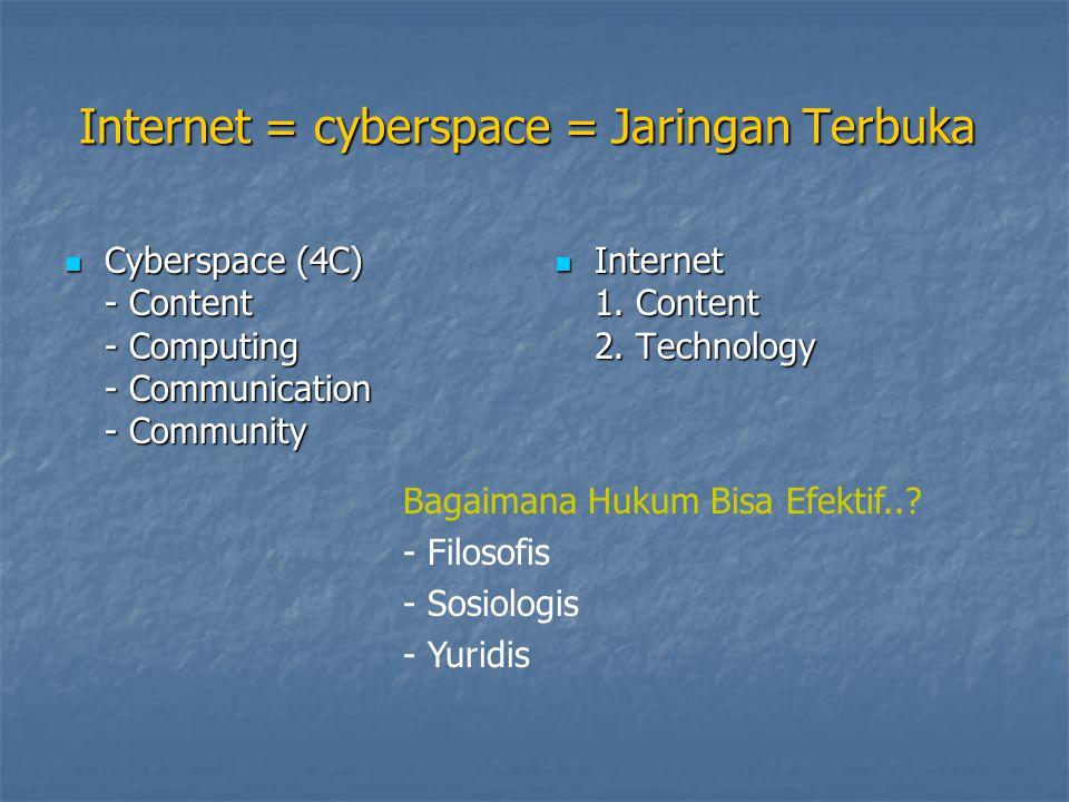 Internet Sehat 1.Non Teknis (seminar, diskusi, kampanye dll) = 1.
