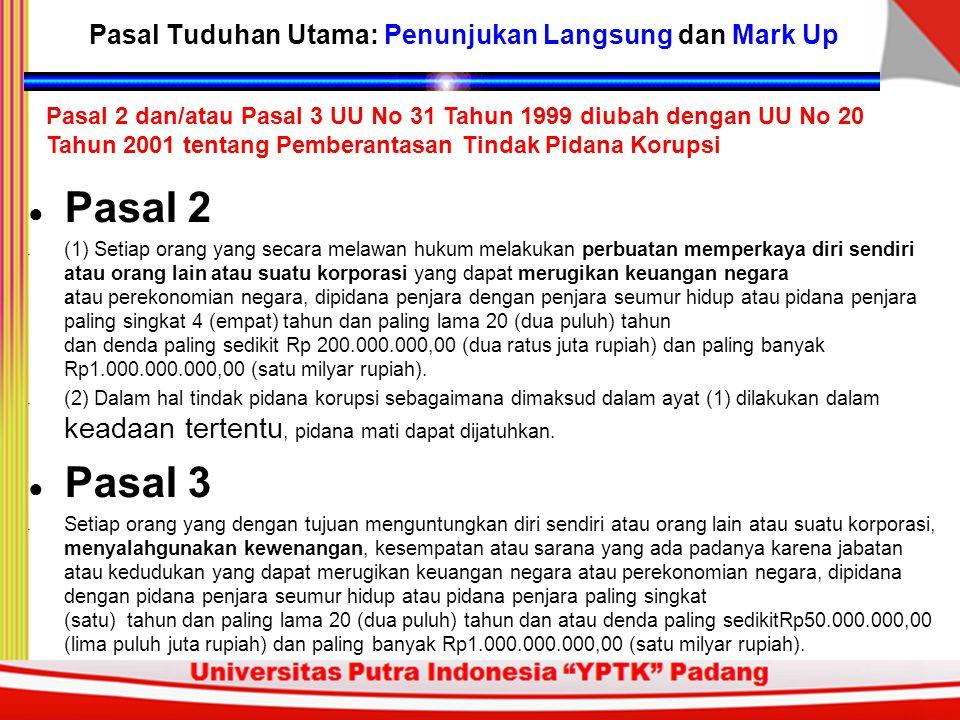 ● Tersangka baru Tersangka: GAG, mantan Dirut PT Netway Utama; disangka menerima fee atas proyek, sehingga merugikan negara sebesar Rp 46, 18 miliar.