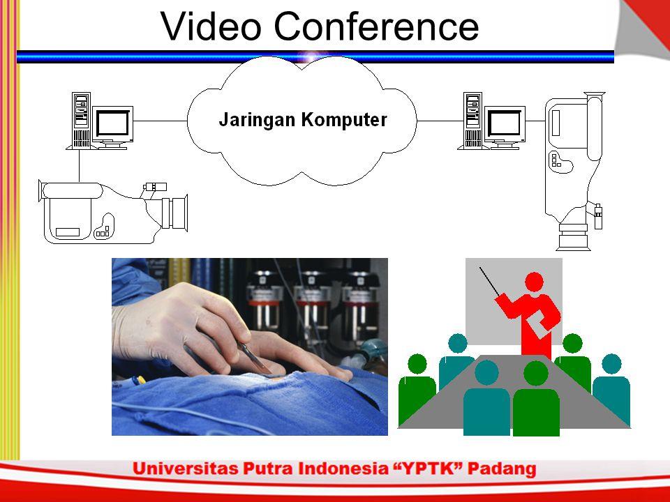 Aplikasi Video Conference untuk diskusi paramedis. Penyimpanan gambar / image atau hasil sensor / telemetri. Monitor jarak jauh untuk pasien di ICU. M
