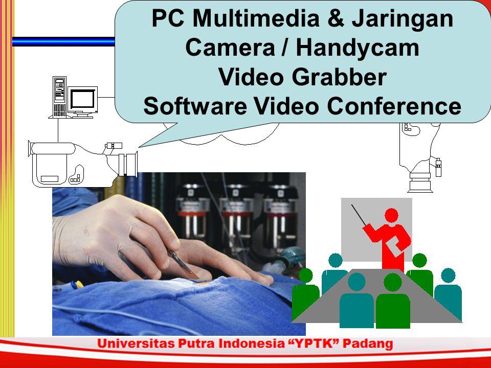 PC Multimedia & Jaringan Camera / Handycam Video Grabber Software Video Conference
