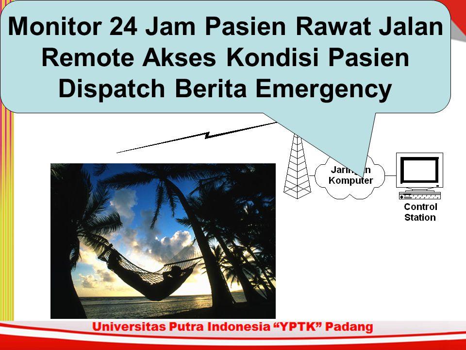 Monitor 24 Jam Pasien Rawat Jalan Remote Akses Kondisi Pasien Dispatch Berita Emergency