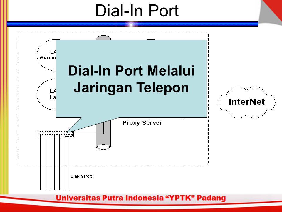 Dial-In Port