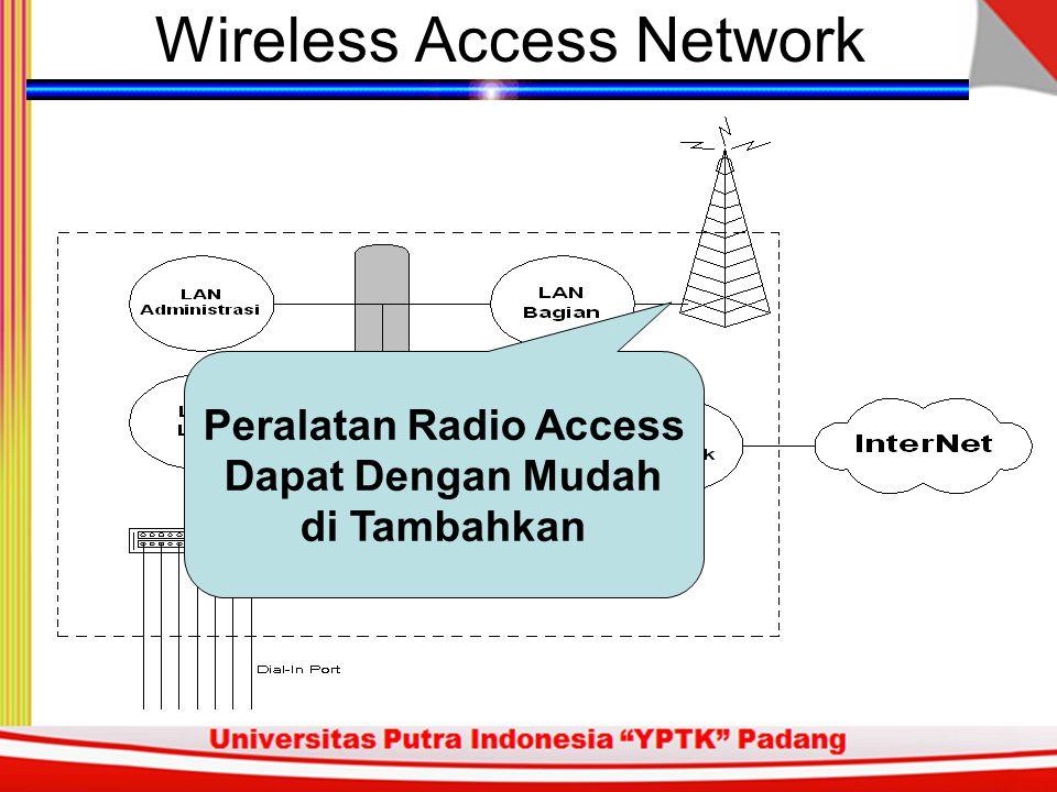 Wireless Access Pasien sering kali harus mobile. Dokter sering kali harus mobile. Kita perlu tetap berhubungan dengan para-medis & dokter.