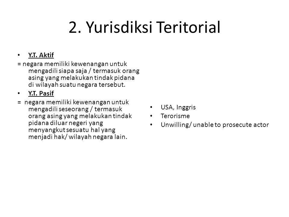 2. Yurisdiksi Teritorial Y.T.