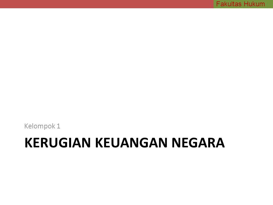 Fakultas Hukum JABATAN atau KEDUDUKAN Kualitas sebagai pejabat atau mempunyai kedudukan Prof Sudarto: kedudukan bila diartikan fungsi pada umumnya, maka seorang direktur bank swasta juga dapat disebut memiliki kedudukan.
