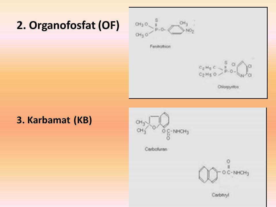 2. Organofosfat (OF) 3. Karbamat (KB)