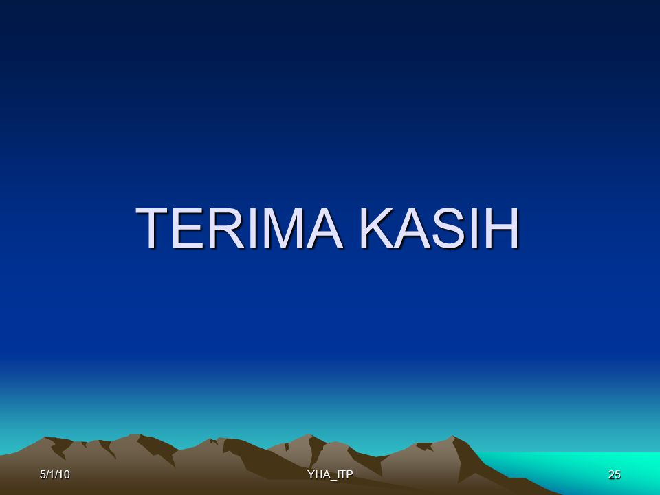 TERIMA KASIH 255/1/10YHA_ITP