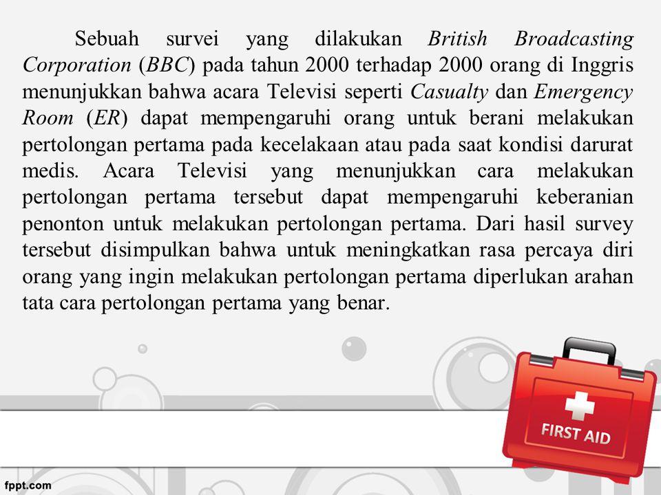 Sebuah survei yang dilakukan British Broadcasting Corporation (BBC) pada tahun 2000 terhadap 2000 orang di Inggris menunjukkan bahwa acara Televisi se