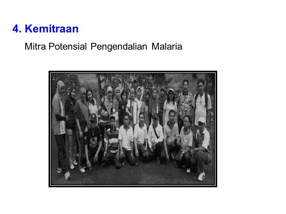 4. Kemitraan Mitra Potensial Pengendalian Malaria