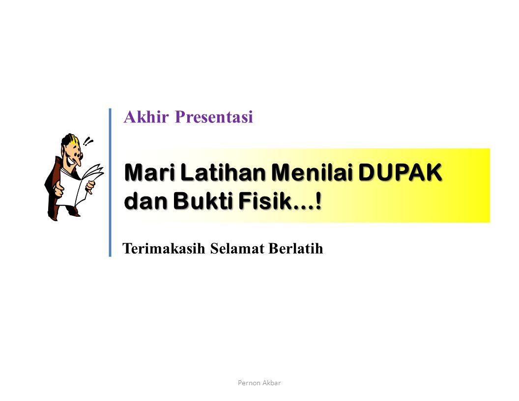 Mengenal Dokumen DUPAK (contoh usulan pertama kali setelah diberlakukannya Permenneg PAN No 16 Tahun 2009, masa penilaian 1 Juli 2010 s.d 31 Desember