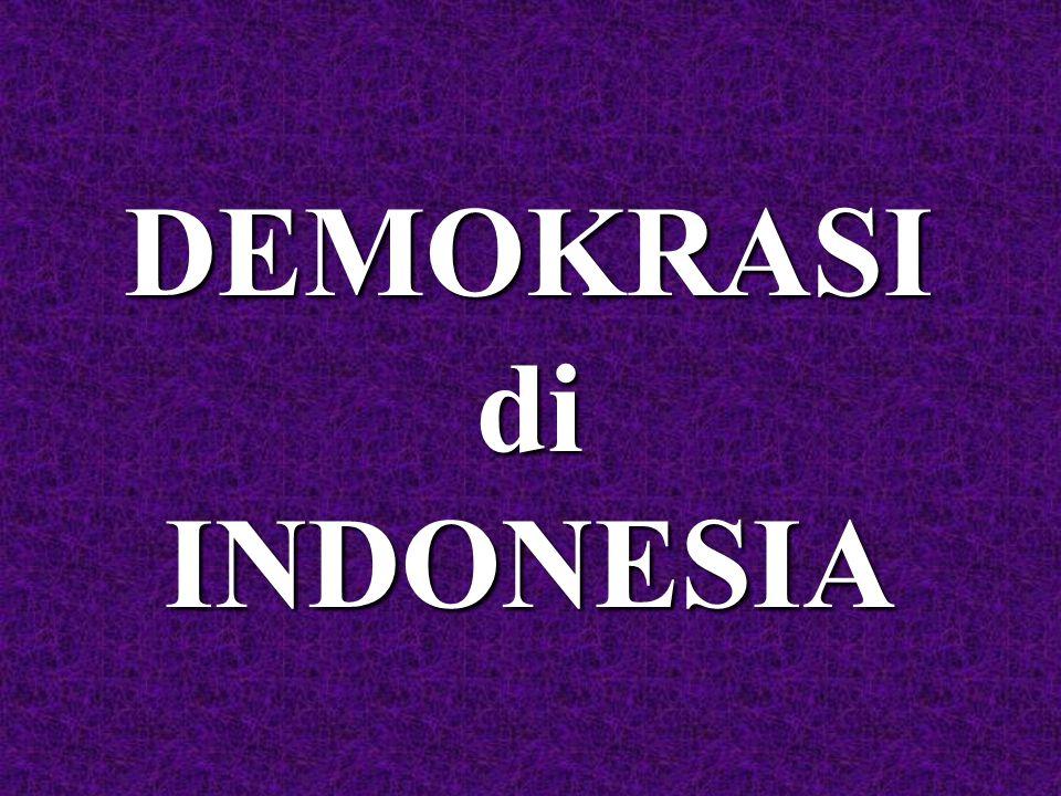 DEMOKRASIdiINDONESIA