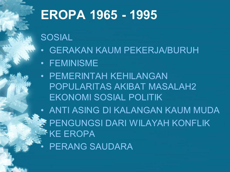 UNI EROPA KINI MEMILIKI BADAN EKSEKUTIF, LEGISLATIF, YUDIKATIF SUPRANASIONALISME & INTERGOVERNMENTALISME BERBAGAI PERJANJIAN YANG TERUS DISEMPURNAKAN IDENTITAS EROPA : EURO, ODE TO JOY, SCHENGEN
