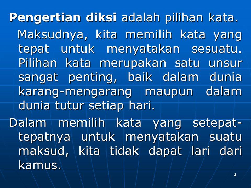 43 KATA SERAPAN Kata Serapan PPPPerbendaharaan kata bahasa Indonesia yang berasal dari bahasa lain, seperti bahasa daerah dan bahasa asing.