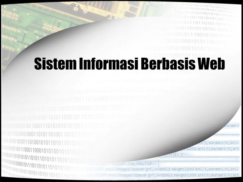 Sistem Informasi Berbasis Web
