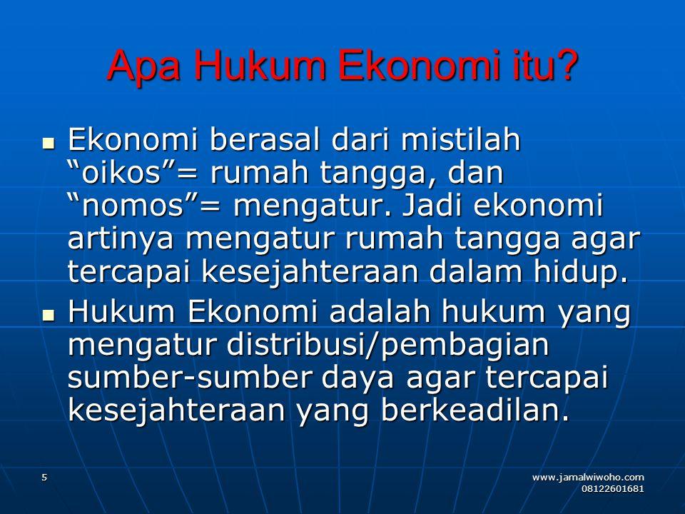KAITAN HUKUM BISNIS INTERNASIONAL KEDALAM HUKUM BISNIS INDONESIA WTO (The World Trade Organization) 1 Januari 1995 – UU No.