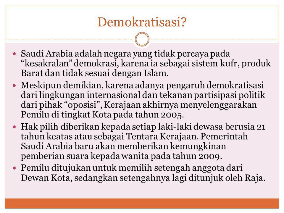 Demokratisasi.