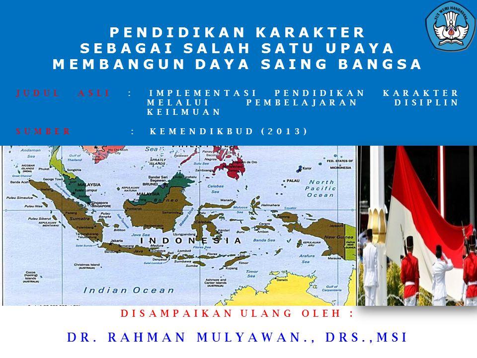  DEKLARASI PEMIMPIN PERGURUAN TINGGI NEGERI/PEMERINTAH  DAN KOORDINATOR KOORDINASI PERGURUAN TINGGI SWASTA SELURUH INDONESIA   ANTI MENYONTEK DAN ANTI PLAGIAT  Kami, Pemimpin Perguruan Tinggi Negeri/Pemerintah dan Koordinator Kopertis seluruh Indonesia menyatakan:  (1)Pancasila sebagai ideologi negara dan pandangan hidup bangsa Indonesia merupakan ide, nilai, moral, dan norma yang mendasari pola pikir, sikap, dan perilaku sehingga mewujudkan dalam karakter bangsa Indonesia;  (2)Karakter bangsa ditopang oleh seperangkat nilai yang bersumber dari olah hati, olah pikir, olah raga/kinestetik, olah rasa dan karsa dalam bentuk nilai-nilai utama karakter: jujur, cerdas, tangguh, dan peduli;  (3)Budaya akademik perguruan tinggi sebagai totalitas nilai dan perilaku dalam kehidupan akademik harus dimaknai, dihayati, dan diamalkan oleh sivitas akademika yang bertumpu pada nilai- nilai utama karakter: jujur, cerdas, tangguh, dan peduli;  (4)Dalam mewujudkan budaya akademik, sitivas akademika mempunyai tugas utama: mentransformasikan, mengembangkan, dan menyebarluaskan ilmu pengetahuan, teknologi, dan seni melalui pendidikan, penelitian, dan pengabdian kepada masyarakat;  (5)Perilaku menyontek dan plagiat merupakan bentuk tindakan tidak bermartabat yang harus dicegah dan ditanggulangi.