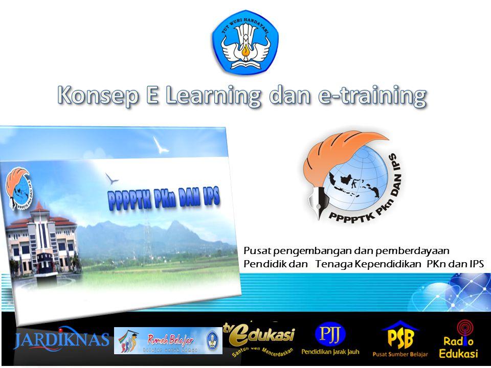 Definisi e-learning E-Learning merupakan suatu jenis belajar mengajar yang memungkinkan tersampaikannya bahan ajar ke siswa dengan menggunakan media Internet, Intranet atau media jaringan komputer lain.