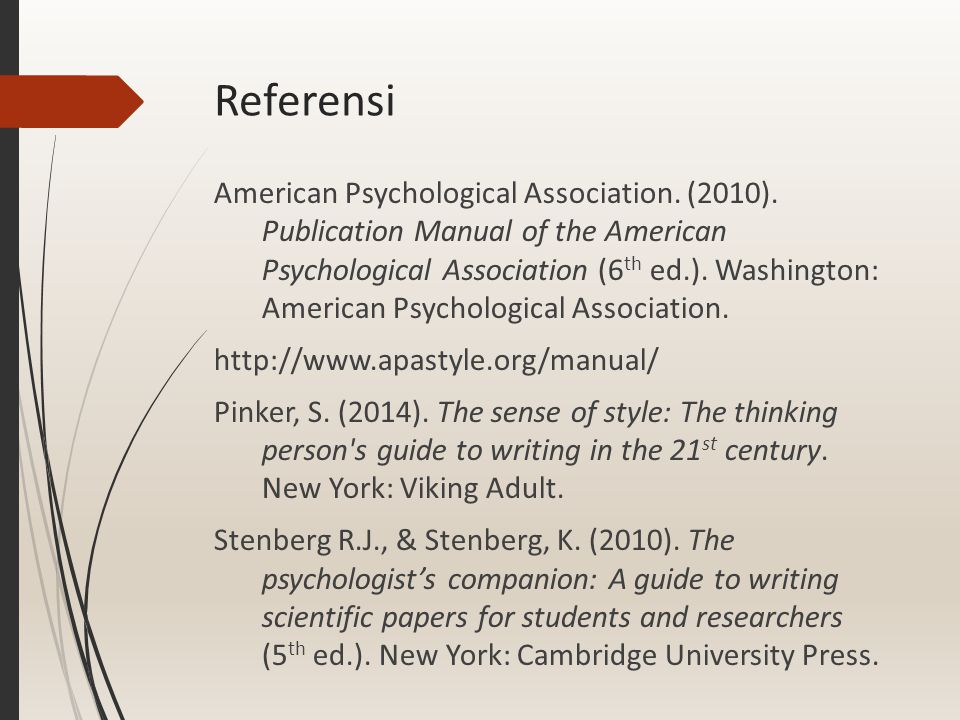 Misconceptions about psychology papers  Menulis adalah pekerjaan rutin yang butuh banyak waktu tetapi sedikit kreativitas.