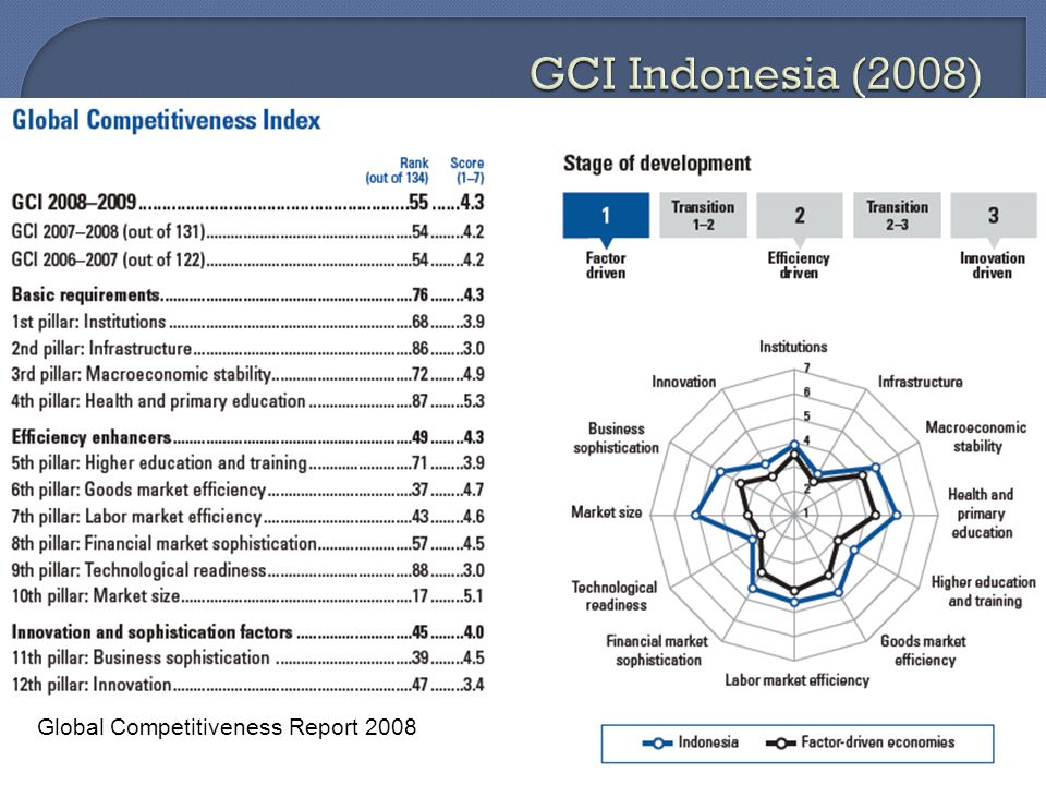 Global Competitiveness Report 2008