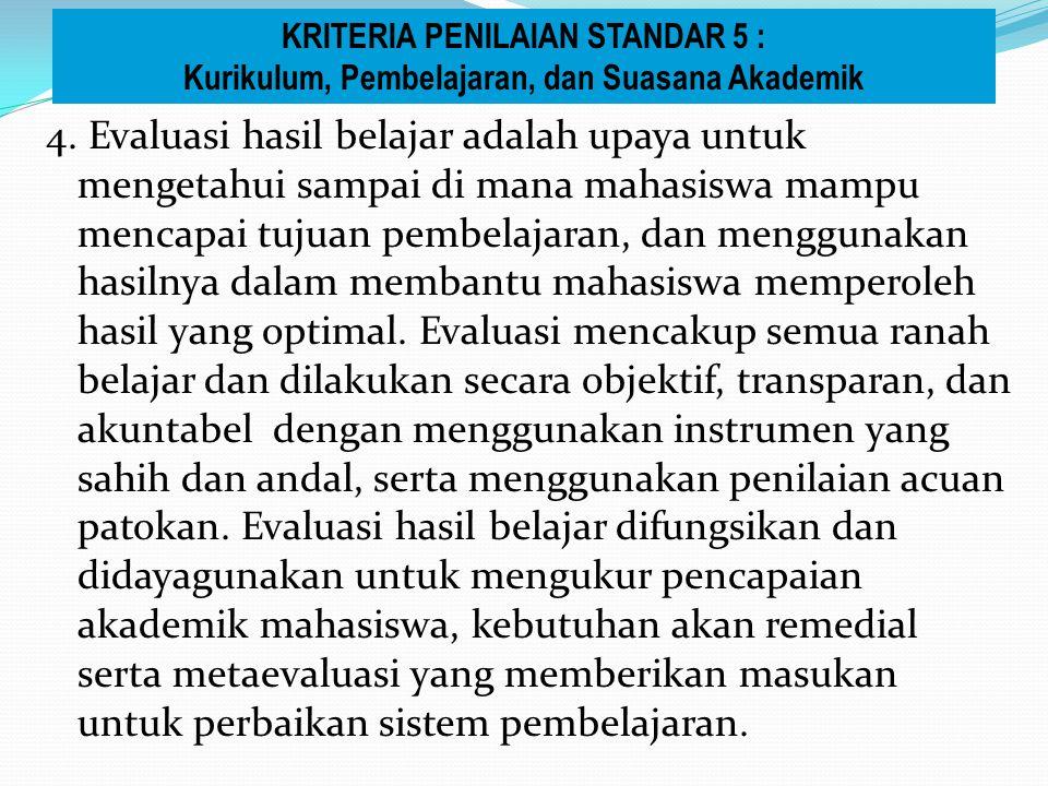  Point (4) Dokumen formal yang lengkap mencakup informasi tentang otonomi keilmuan, kebebasan akademik, kebebasan mimbar akademik, serta dilaksanakan secara konsisten.