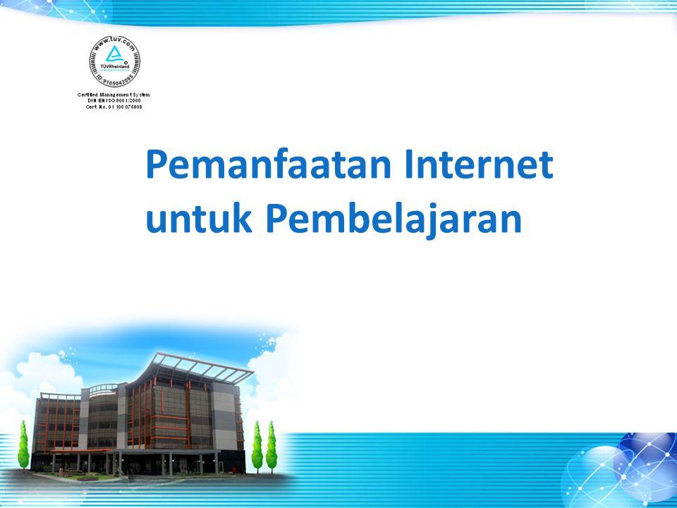 Pemanfaatan Internet untuk Pembelajaran