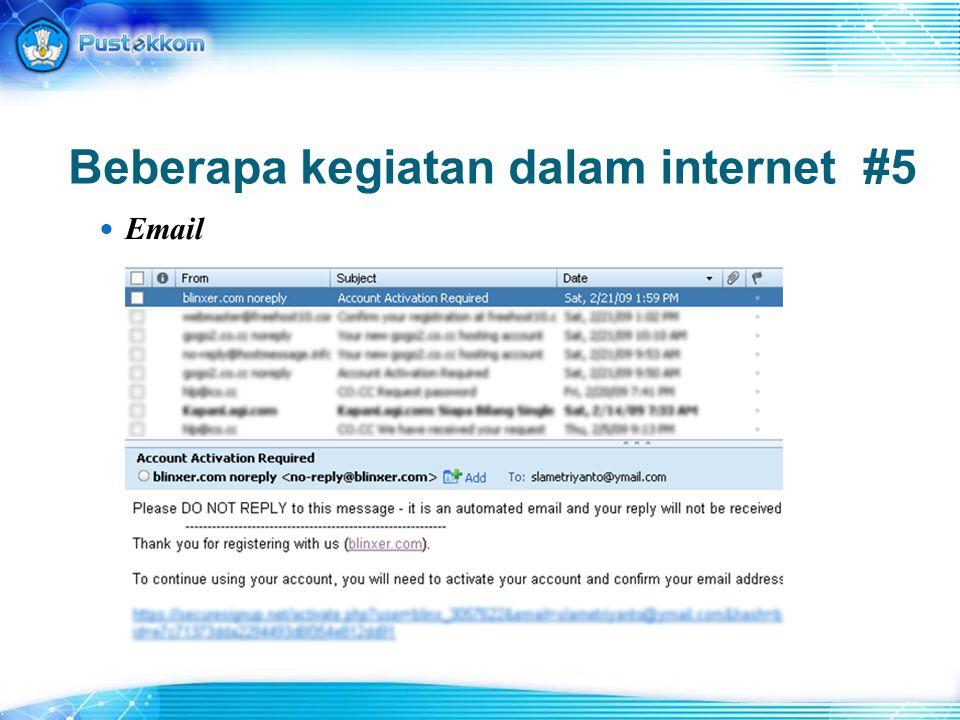 Beberapa kegiatan dalam internet #6 Groups