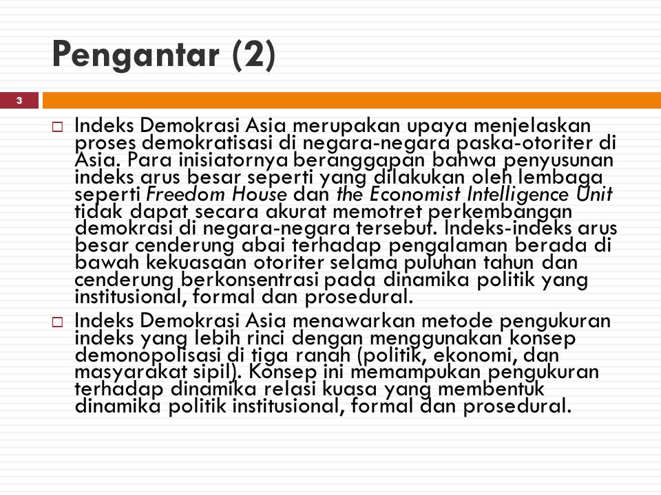 Konteks Politik 4  Hasil Pemilu Legislatif 2014 menunjukkan perubahan konstelasi politik: pemenang berganti dari PD ke PDIP, tetapi tidak ada kekuatan mayoritas dalam parlemen.