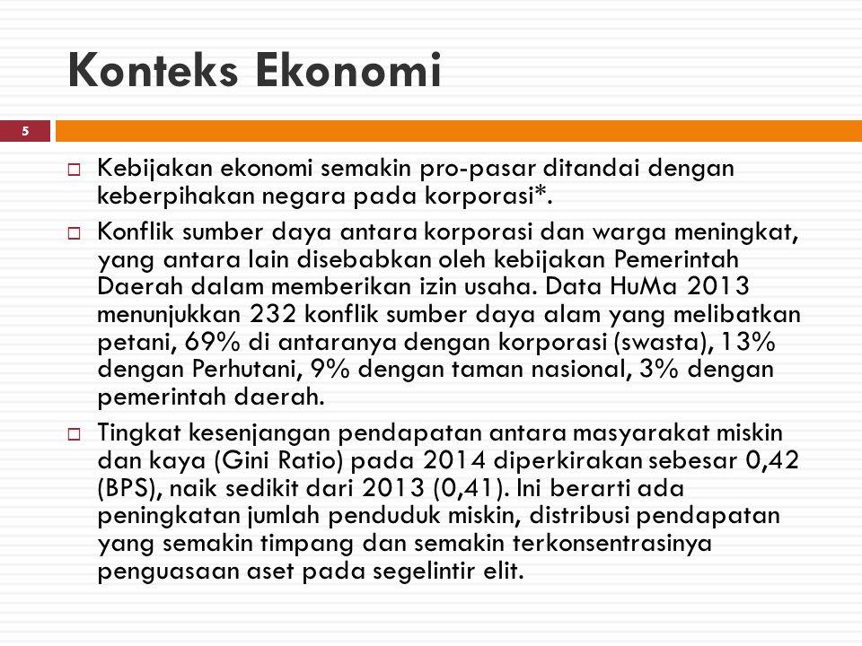 Indeks Masyarakat Sipil 2014 26  Skor indeks masyarakat sipil sebesar 5,15, naik 0,12 dari skor 2013.
