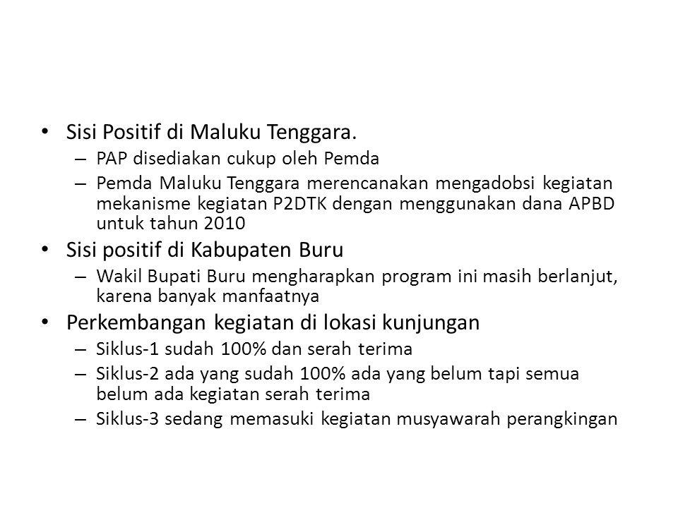 Sisi Positif di Maluku Tenggara.
