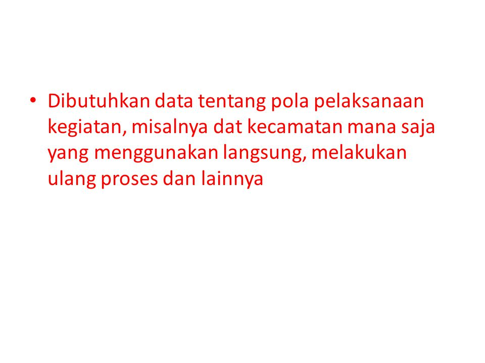 Dibutuhkan surat kepada pemerintah kabupaten untuk menyiapkan dana PAP PIU sudah mengirimkan surat tentang informasi ancar-ancar (berisi sisa 2008 dan sisa 2009) dana 2010 data ini digunakan untuk pedoman kabupaten untuk menyusun PAP.