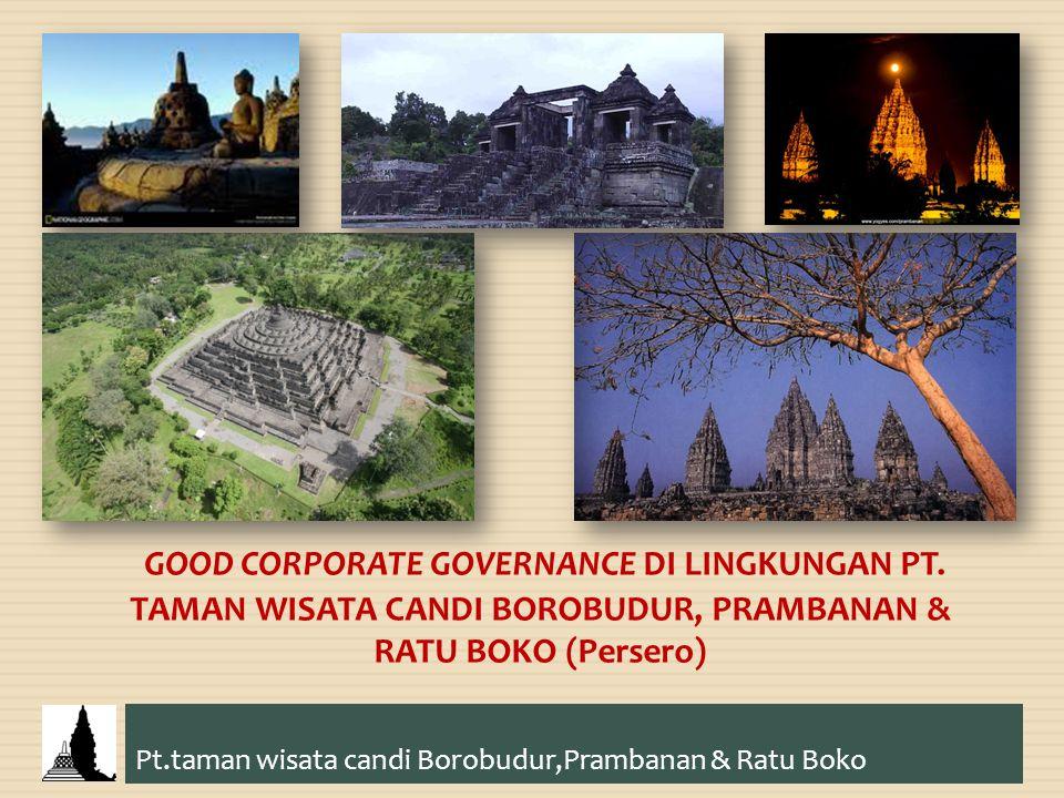 GOOD CORPORATE GOVERNANCE DI LINGKUNGAN PT. TAMAN WISATA CANDI BOROBUDUR, PRAMBANAN & RATU BOKO (Persero) Pt.taman wisata candi Borobudur,Prambanan &