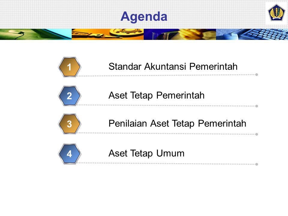 Agenda Standar Akuntansi Pemerintah 1 Aset Tetap Pemerintah 2 Penilaian Aset Tetap Pemerintah 3 Aset Tetap Umum 4