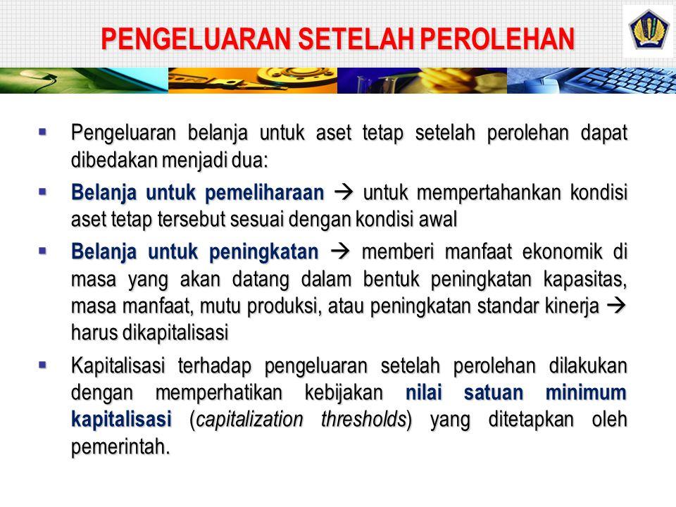 ASET BERSEJARAH  Aset bersejarah merupakan aset tetap yang dimiliki atau dikuasai oleh pemerintah yang karena umur dan kondisinya aset tetap tersebut