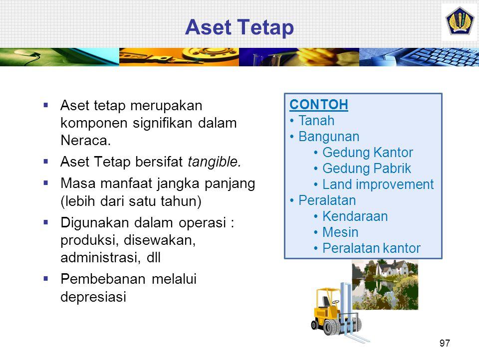 ASET TETAP Presented by: Dwi Martani Anggota Komite Standar Akuntansi Pemerintahan Anggota Tim Implementasi IFRS Ketua Departemen Akuntansi FEUI