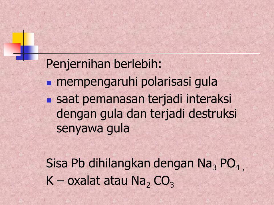 Gula sederhana Campur butanol : asetat : air asam asetat : pyridin : air Pengaruh C terhadap (  ) sangat kecil  diabaikan Suhu berpengaruh  perlu koreksi : [  ]tD = [  ]tD.