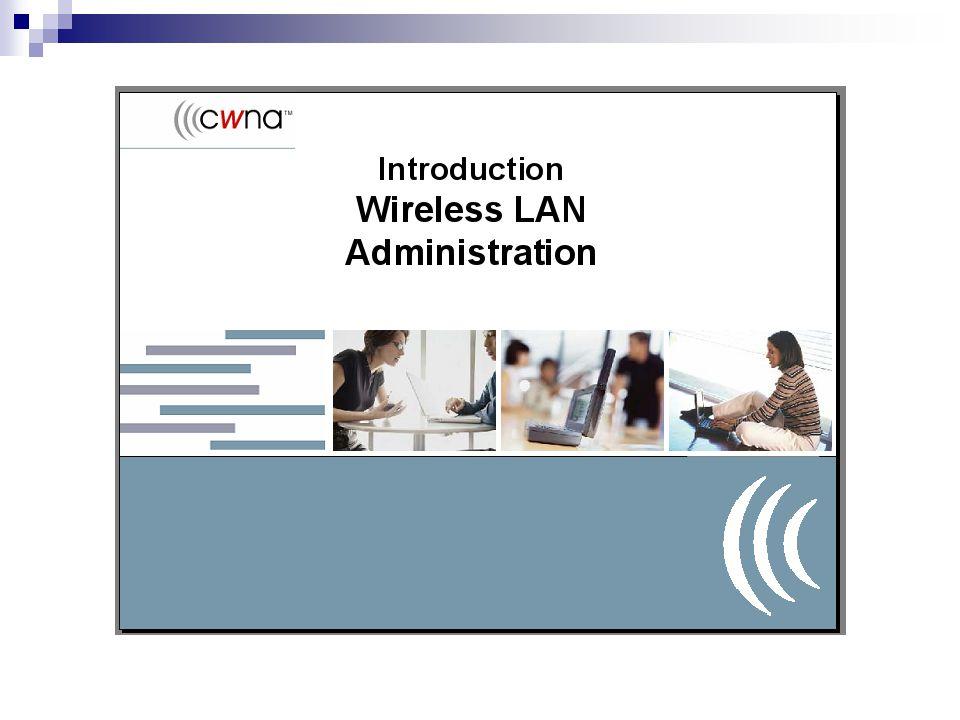 IEEE Membuat standard industri WLAN pada United State Membuat 802.11 dan subsequent standard WLAN Membuat standard dalam batas-batas aturan FCC www.ieee.com