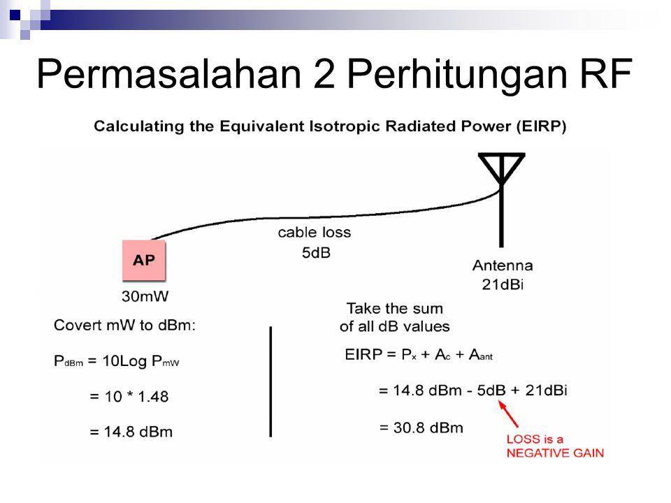 Permasalahan 2 Perhitungan RF