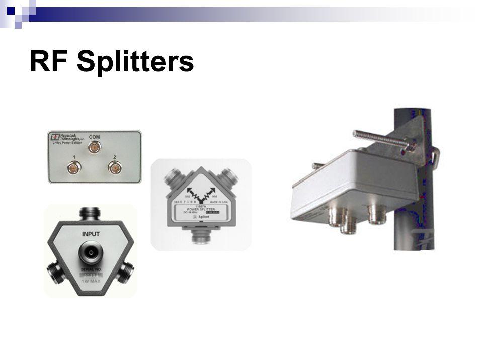 RF Splitters
