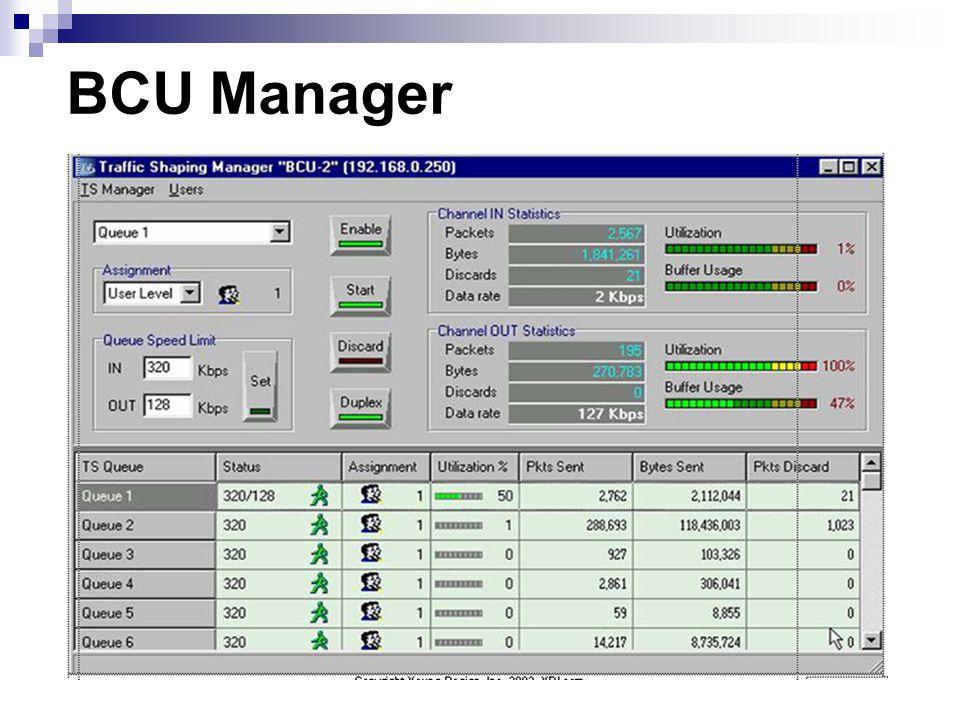 BCU Manager