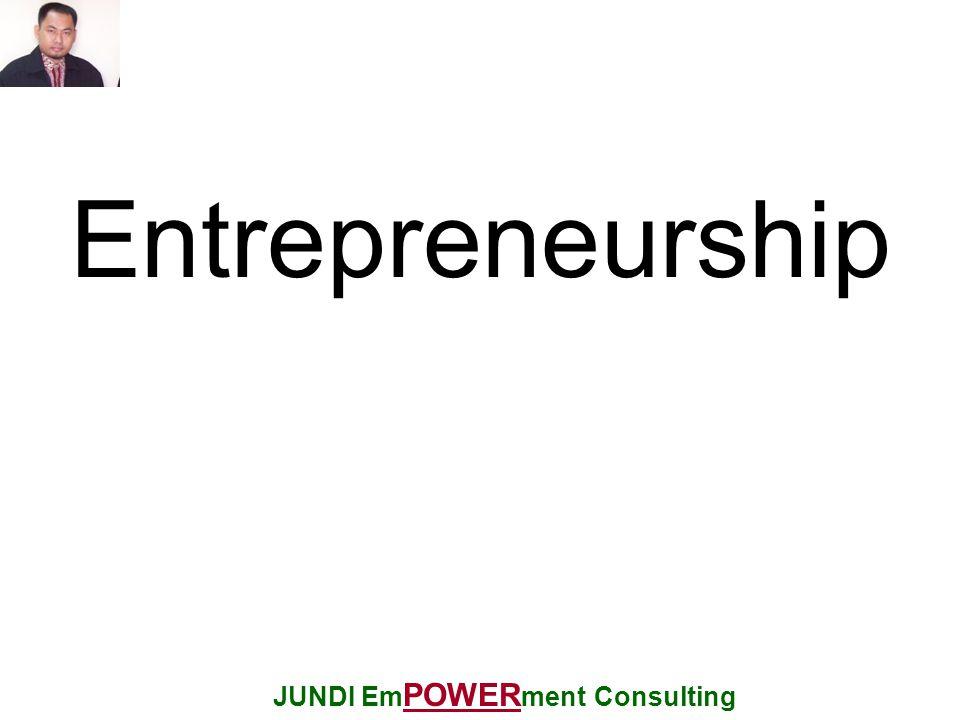 Entrepreneurship JUNDI Em POWER ment Consulting