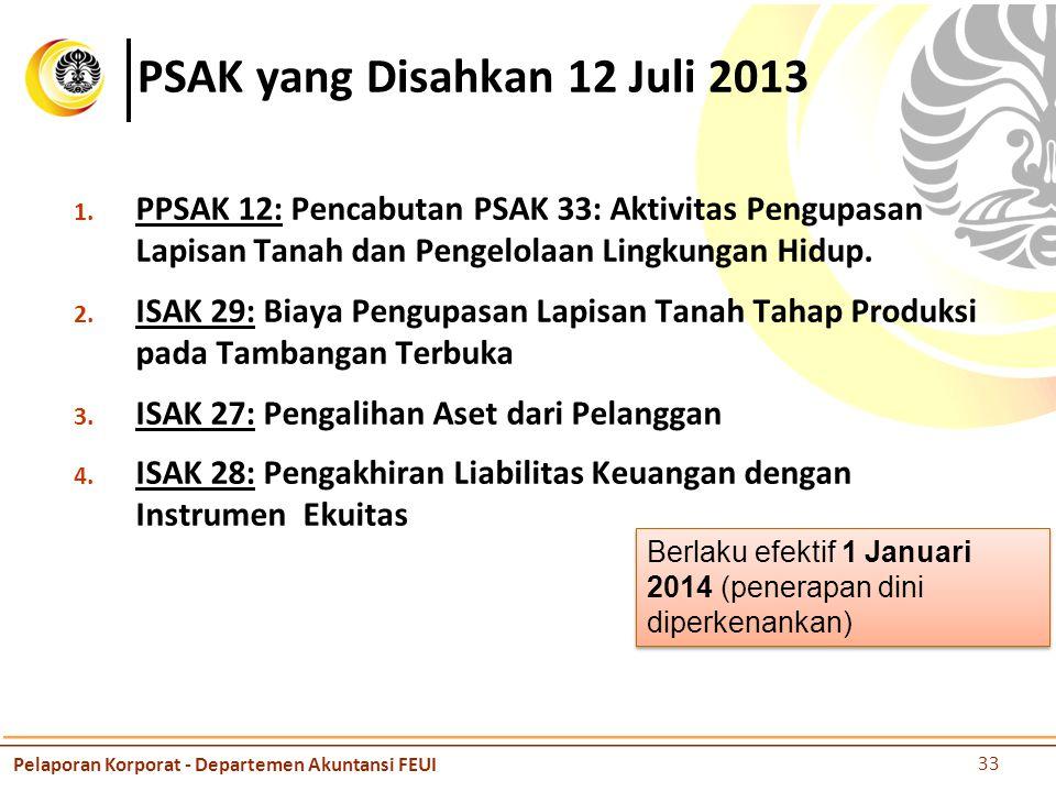 PSAK yang Disahkan 12 Juli 2013 1.
