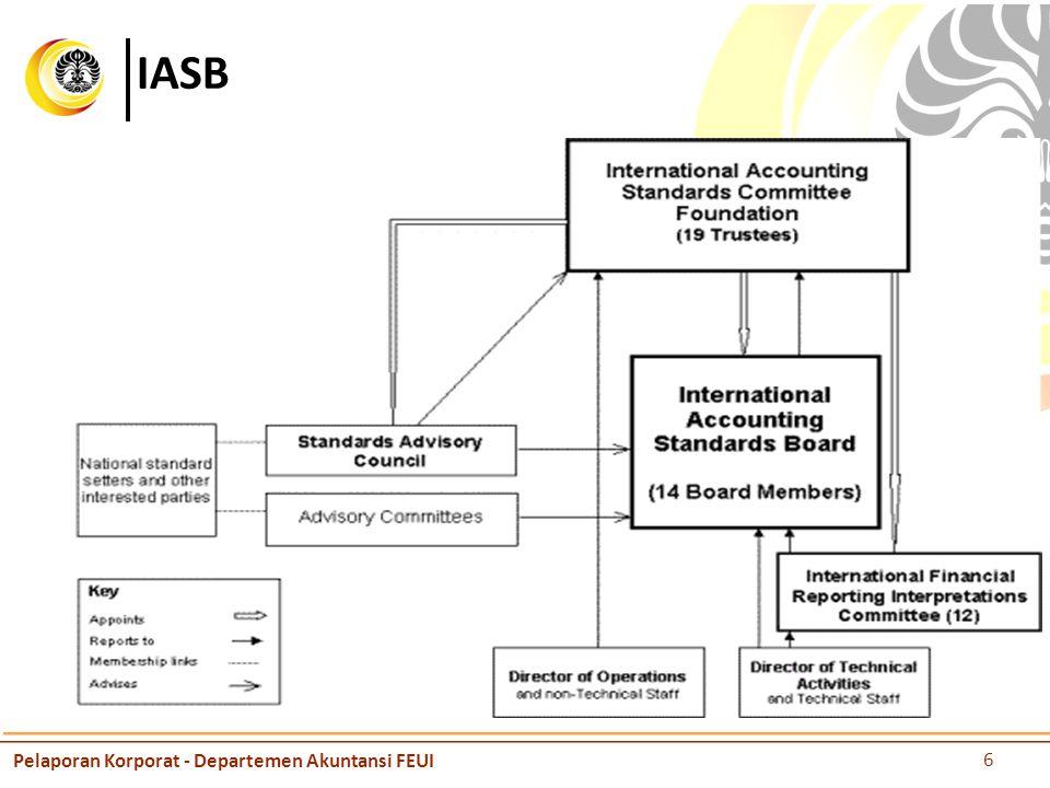 IASB Pelaporan Korporat - Departemen Akuntansi FEUI 6