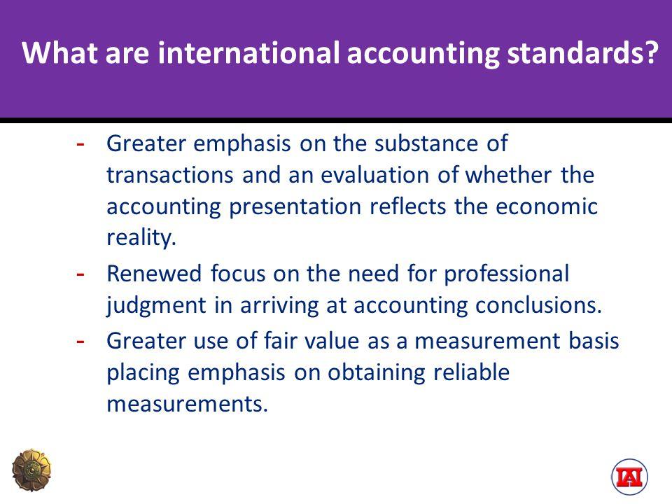 Dampak Konvergensi IFRS terhadap Pendidikan Akuntansi  Mahasiswa harus belajar tentang konsep dalam yang ada di dalam rerangka konseptual (Conceptual framework)  Mahasiswa harus menguasasi teori-teori yang mendasari pelaporan keuangan: ekonomika makro, keuangan, portfolio, dll.