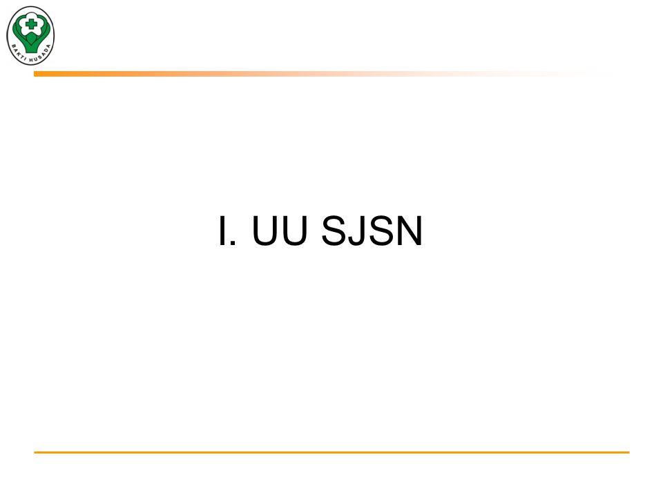 I. UU SJSN
