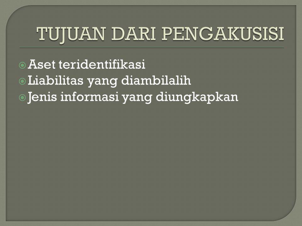  Pihak pengakusisi mengatribusikan kepada pemilik pihak yang diakusisi sejumlah aset neto pihak yang diakusisi yang diakui sesuai PSAK ini.