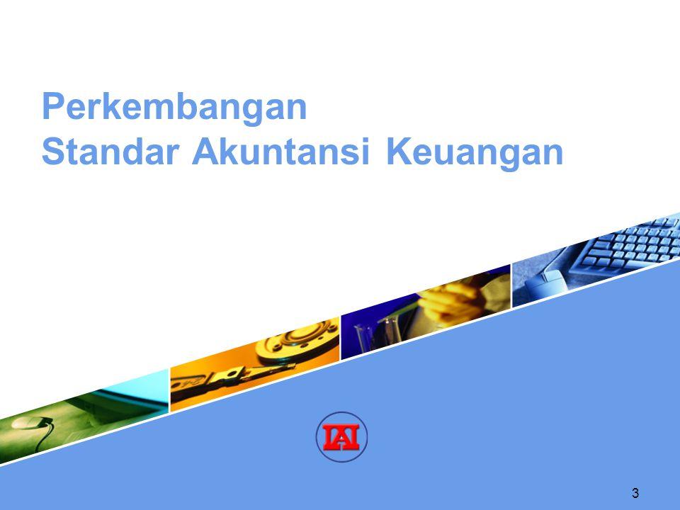3 Perkembangan Standar Akuntansi Keuangan