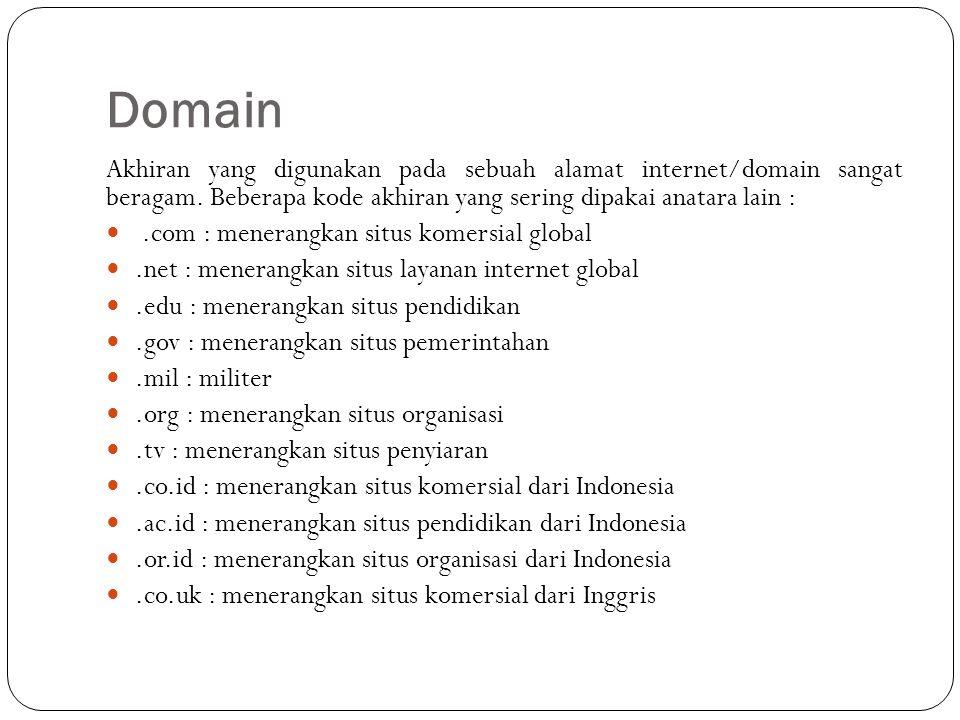 Hosting Hosting adalah jasa layanan internet yang menyediakan sumber daya server-server untuk disewakan sehingga memungkinkan organisasi atau individu menempatkan informasi di internet berupa HTTP, FTP, EMAIL atau DNS Server hosting terdiri dari gabungan server-server atau sebuah server yang terhubung dengan jaringan internet berkecepatan tinggi.