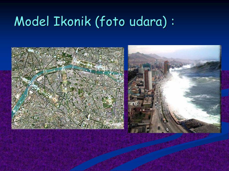 Model Ikonik (foto udara) :